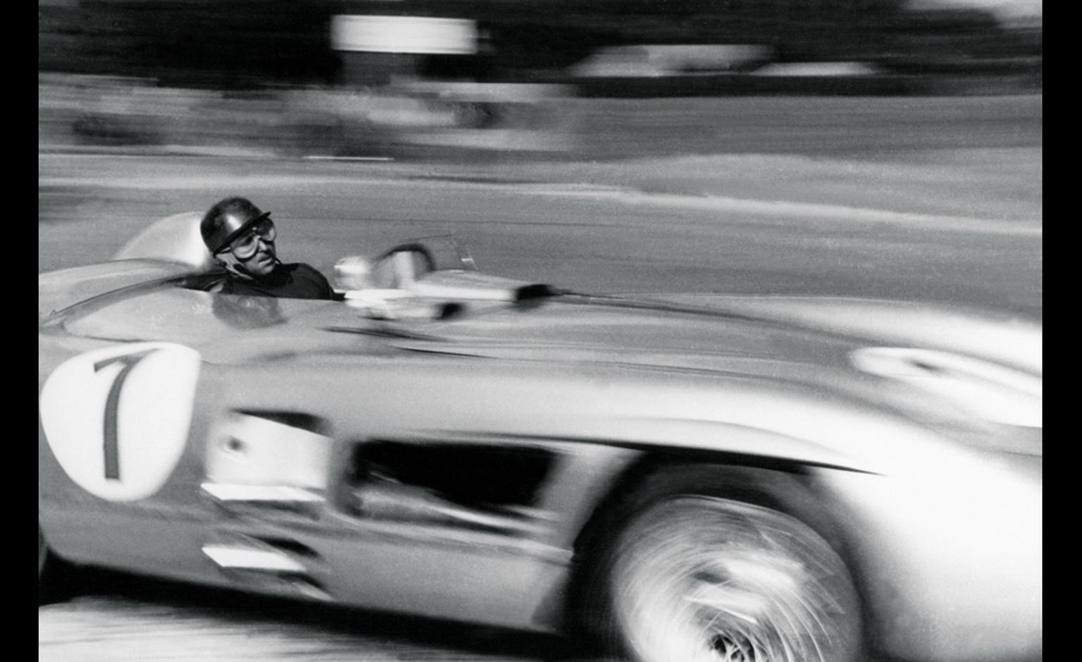 Hero of the race track Juan Manuel Fangio wore a Heuer on his wrist
