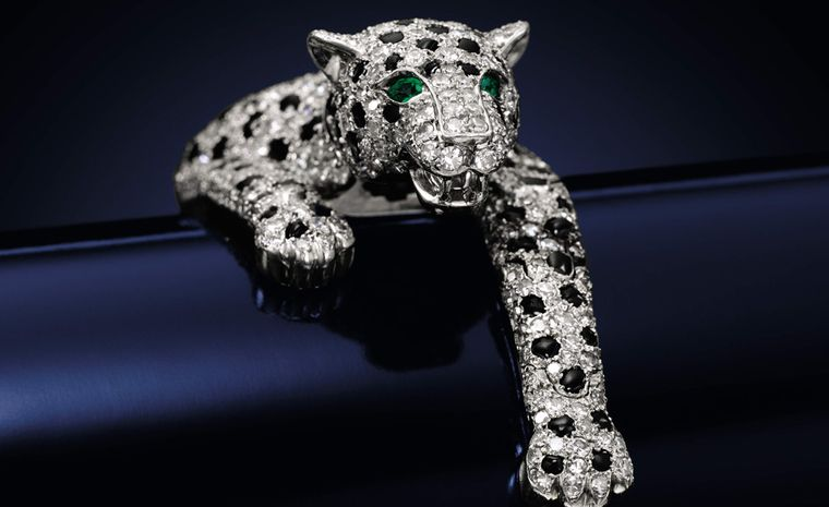 Star of the Show, the 1952 Cartier Panther bracelet Sotheby's Lot 19 Cartier Panther bracelet that  sold for £4,521,250