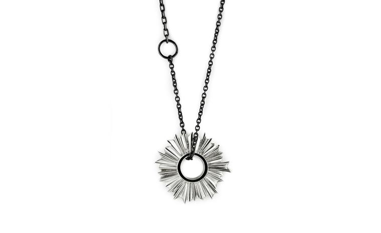 Albion Trinketry, Silver Pendant by Pete Doherty and Hannah Martin £565
