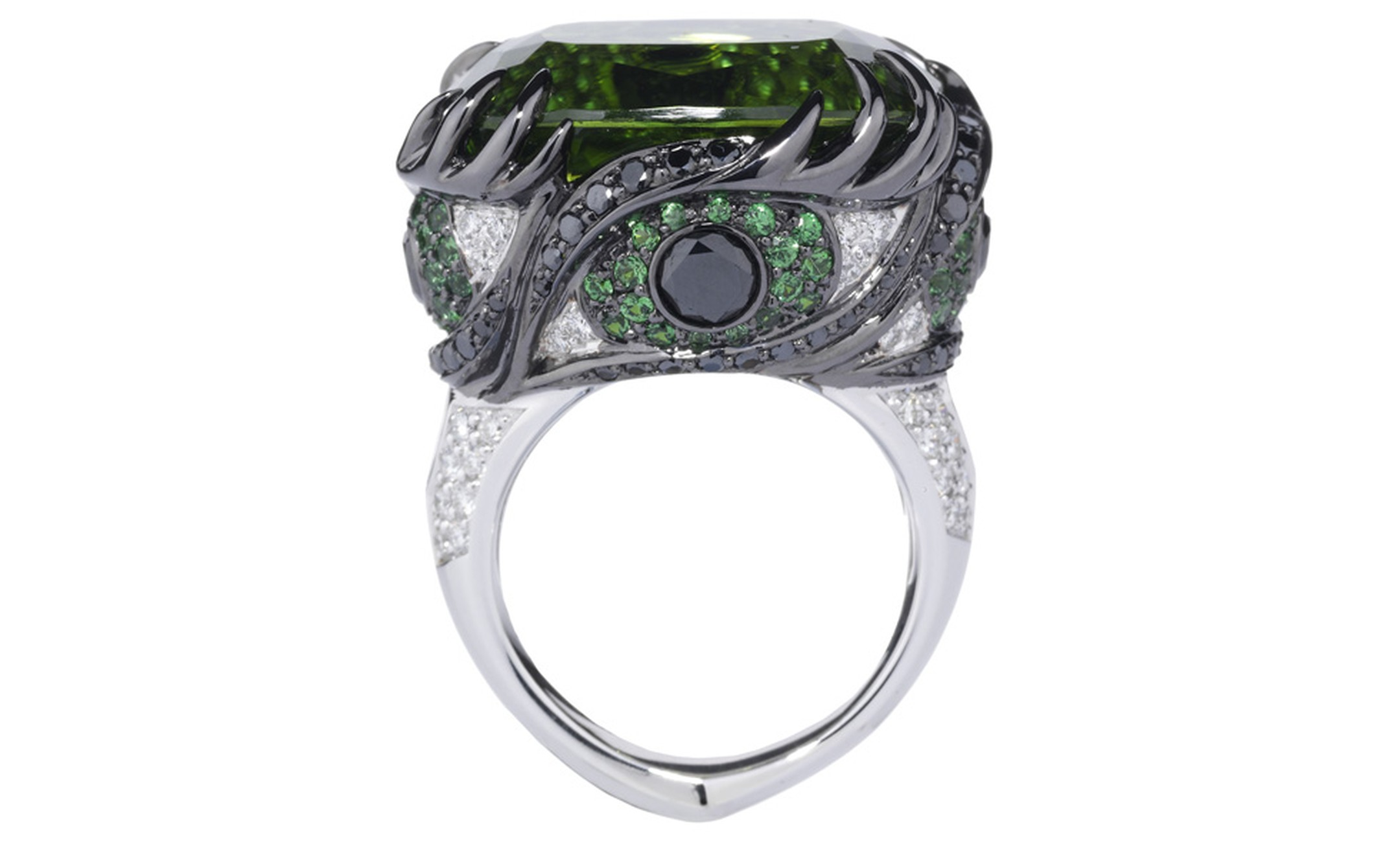 Stephen Webster Seven Deadly Sins Envy ring - of course this one had to be green