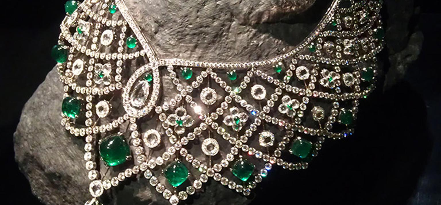 Gemfields Fabergé emerald necklace