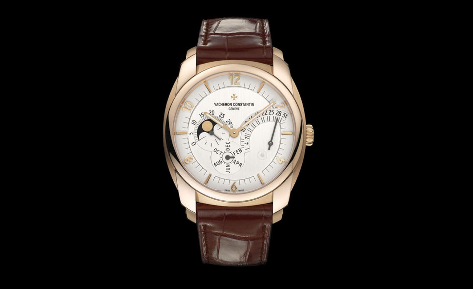 Vacheron Constantin Quai De l'Ile retrograde annual calender for 2011