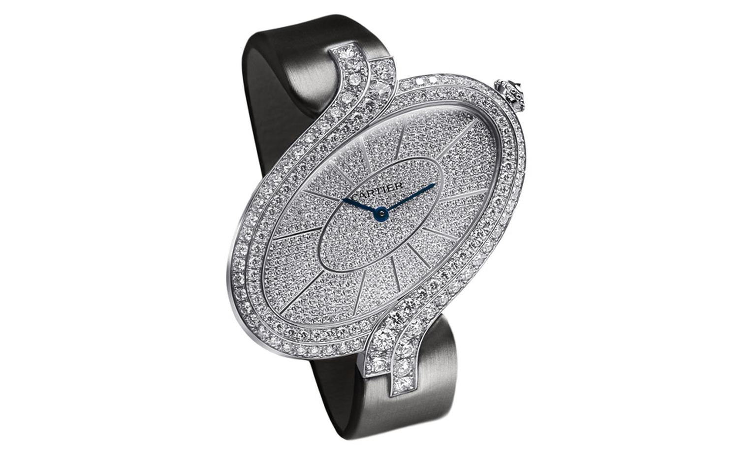 Délices de Cartier entirely diamond set in XL size. Photo: Studio Dielemen Cartier 2010