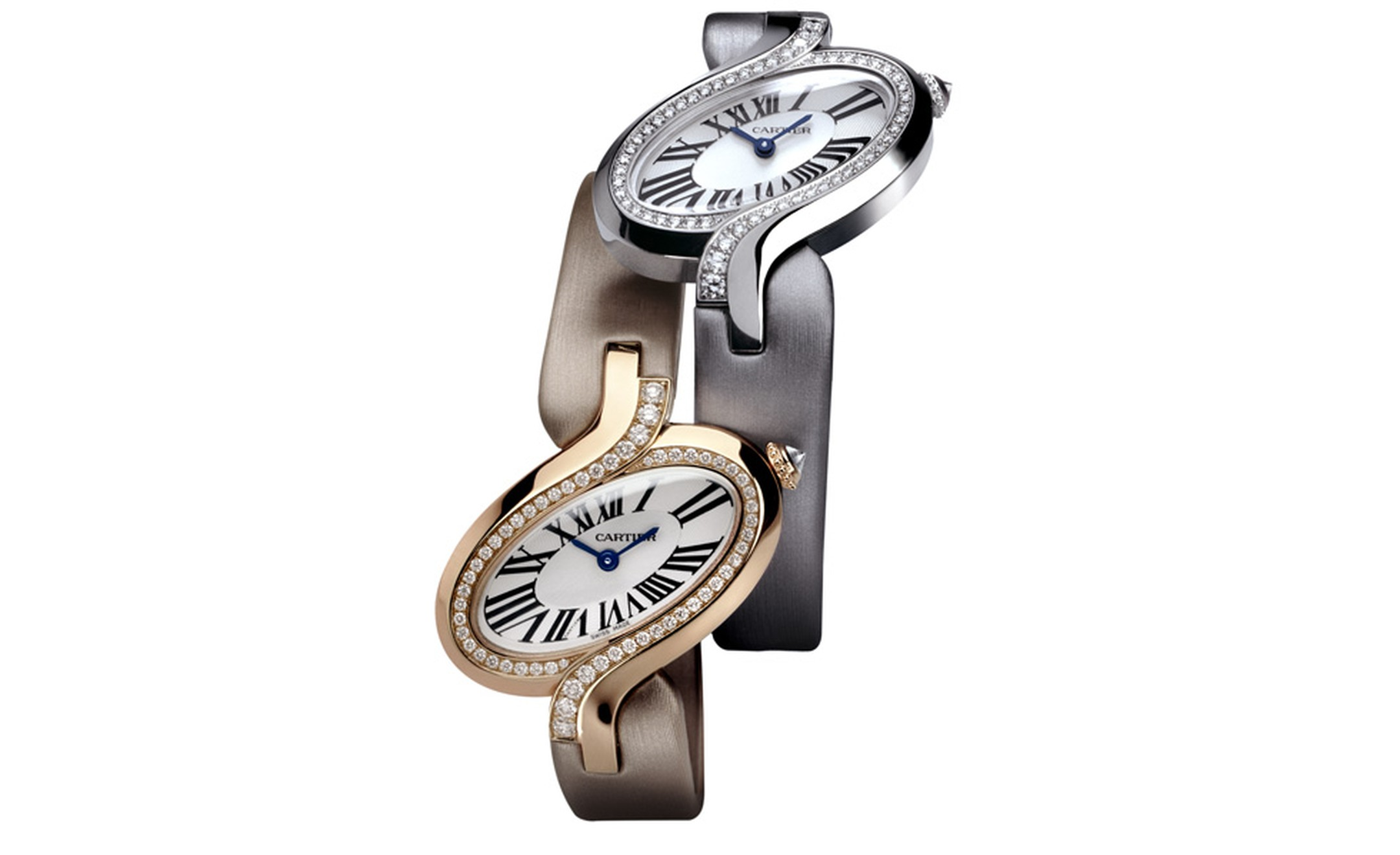 Délices de Cartier is available in white gold or pink gold and in small, large and XL. Photo: Studio Dielemen Cartier 2010