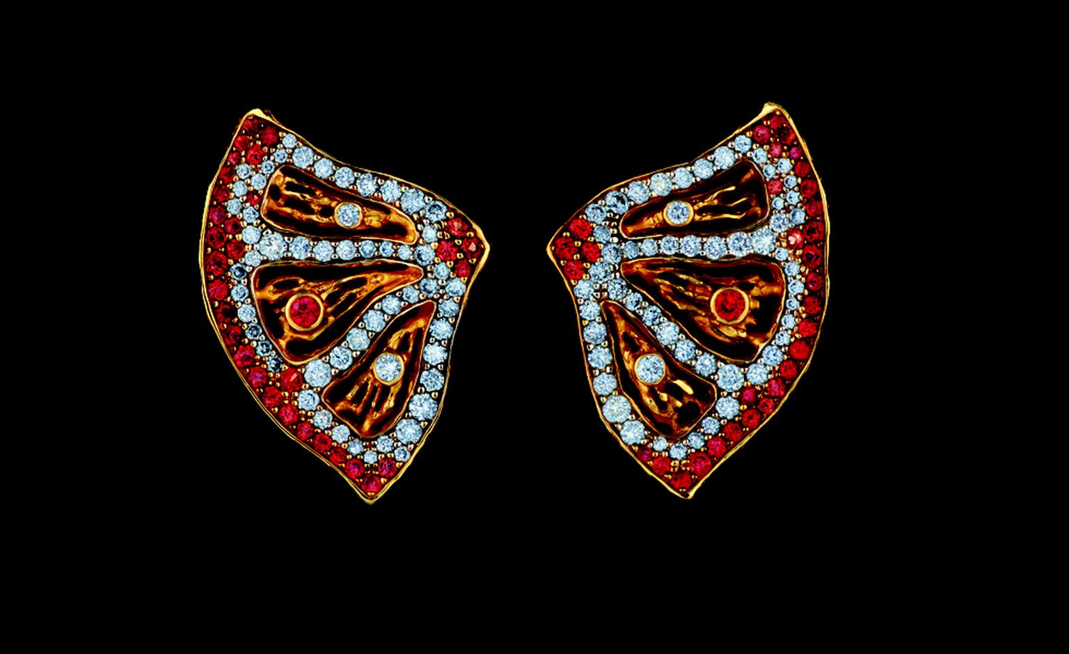 Russian Jewellery Theatre Caravaggio collection, earrings