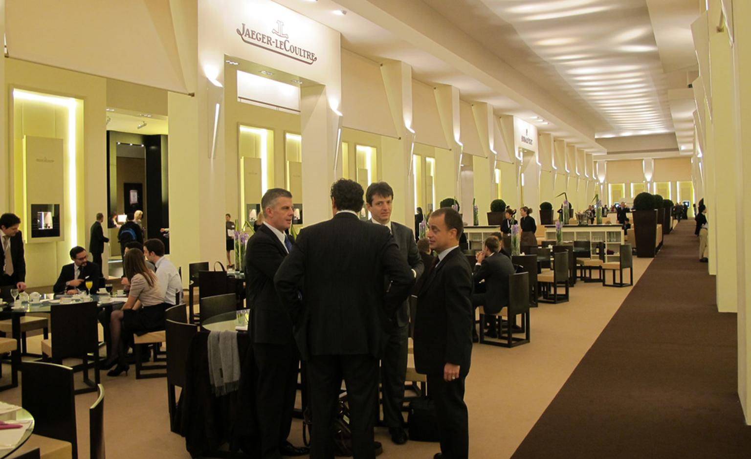 The halls of horology at the SIHH 2011