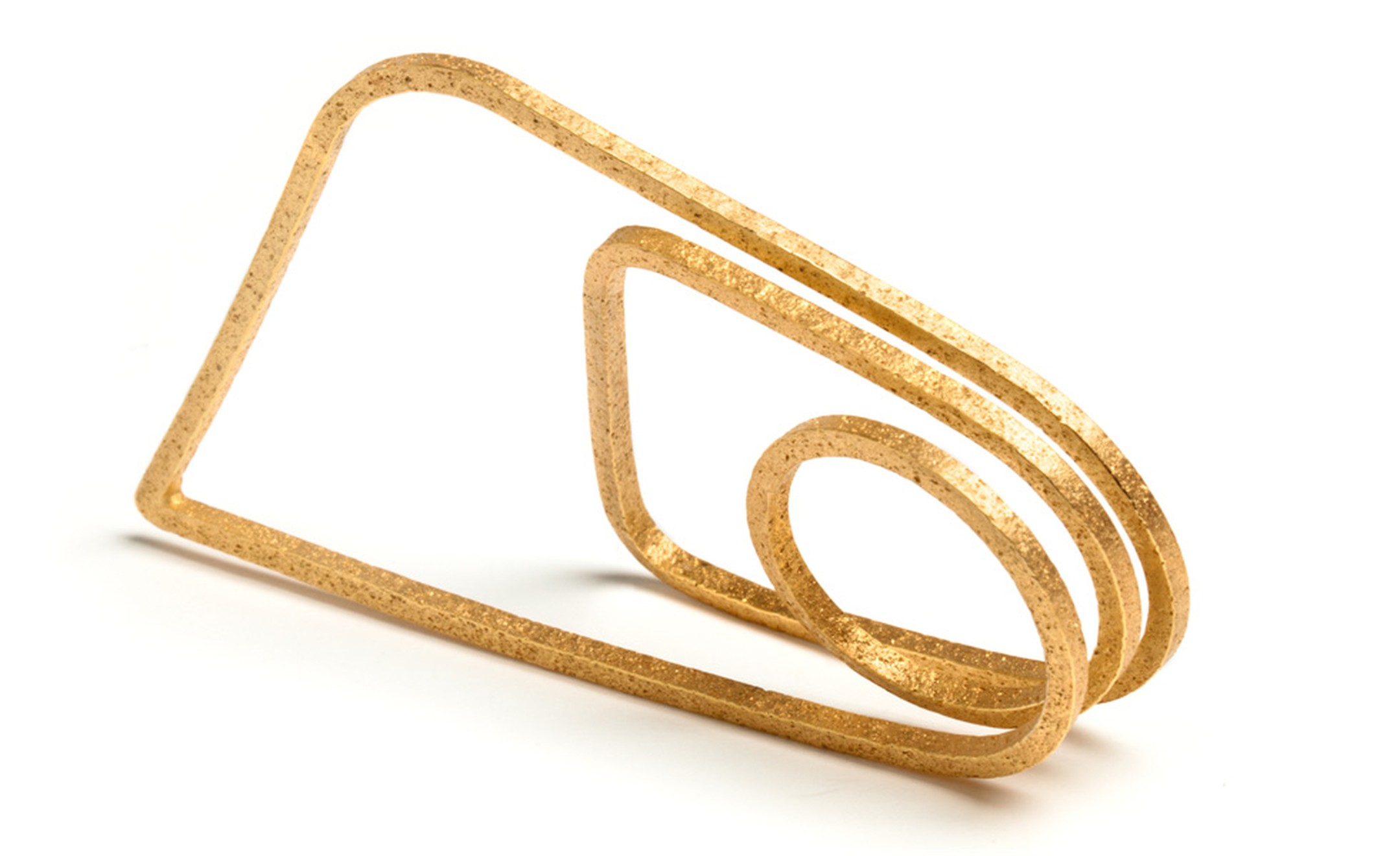 Ute Decker High Rise ring to be made in Fairtrade Gold