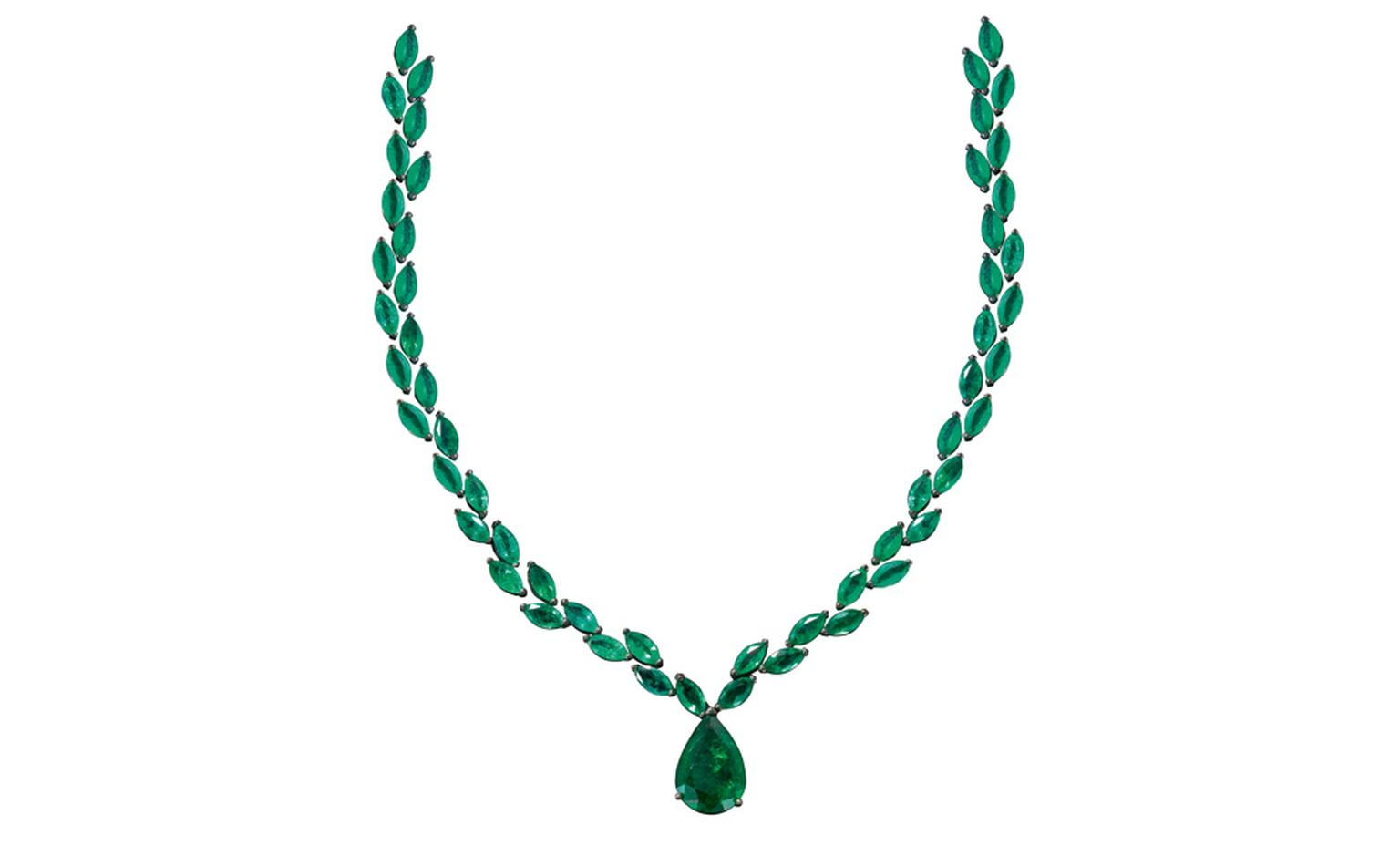 Solange Azagury-Partridge Old Fashioned Necklace worn by Thandie Newton at BAFTAs 2011