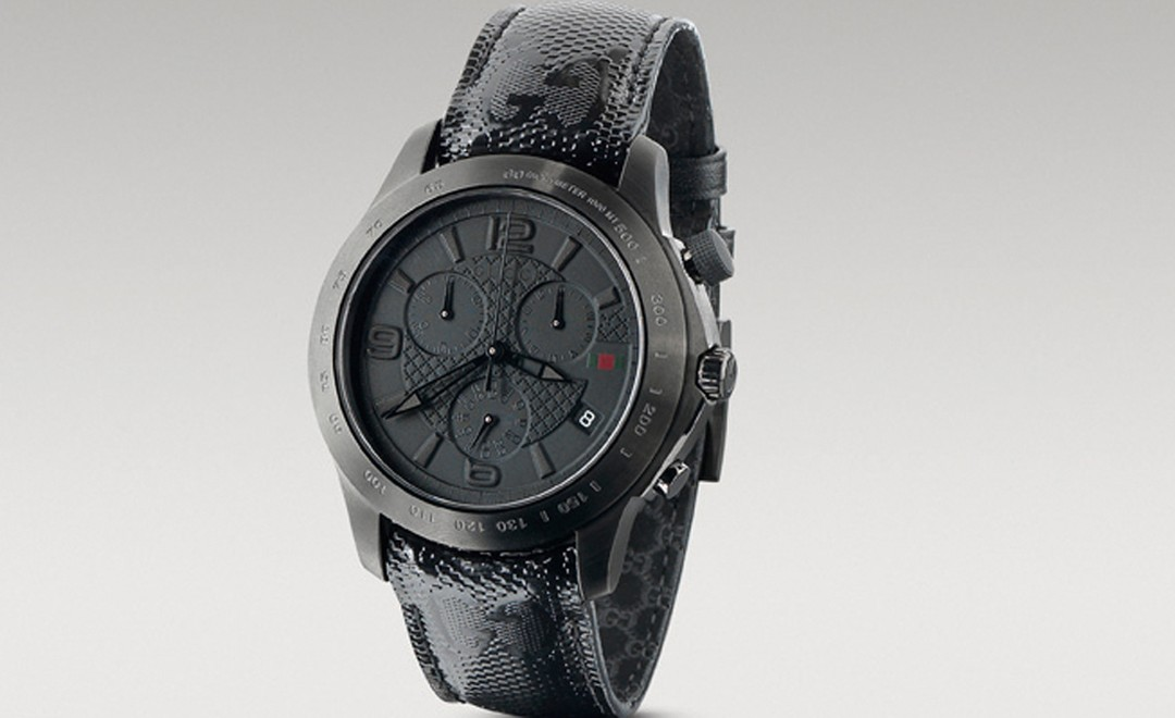 Gucci watch that is part of the 500 by Gucci project.