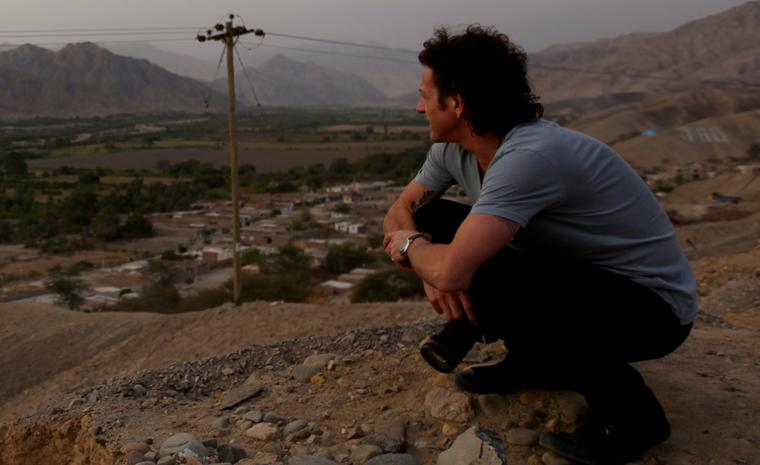Stephen Webster in Peru