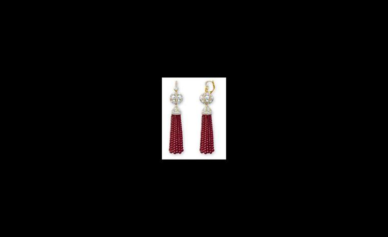 Rubellite Tassel earrings by Tiffany as worn by Natalie Portman to the Oscars. Unfortunately no price for these, but I would wager they are a fraction of the cost of the Lucida Star necklace worn by Anne Hathaway