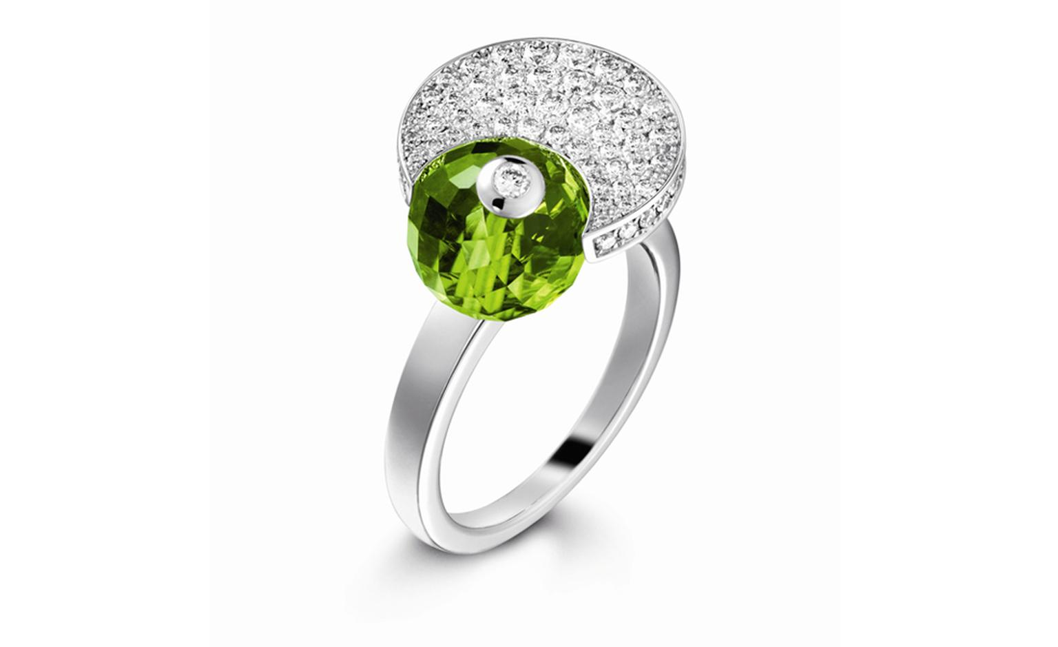 PIAGET, Limelight Cocktail inspiration, White Tonic with diamonds and peridot. POA