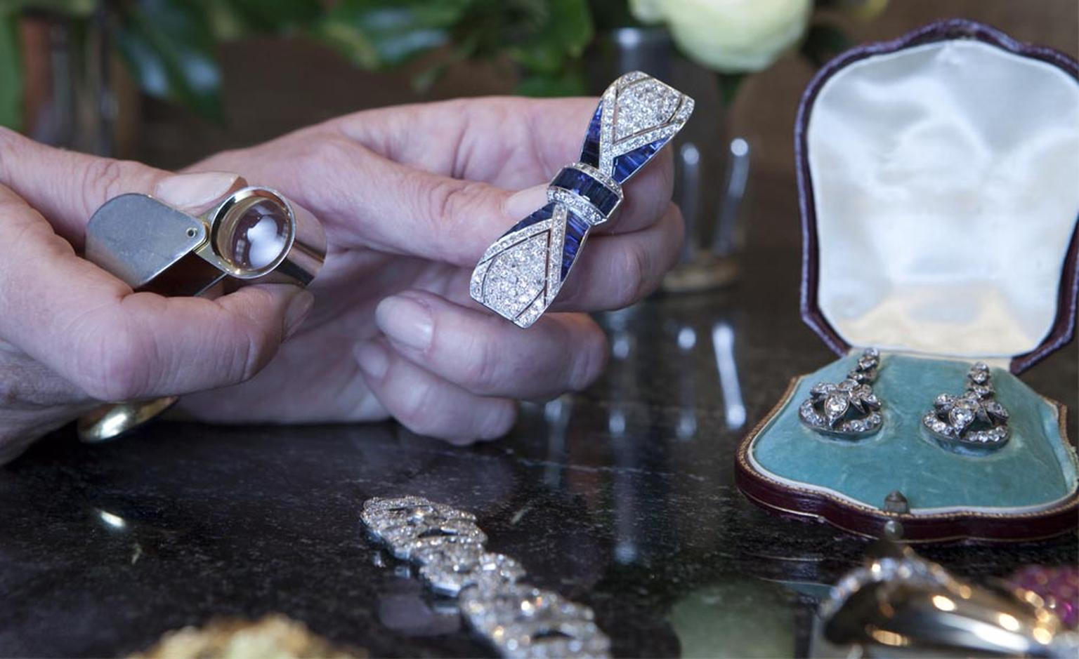 Joanna Hardy values jewels both for private clients and on BBC's Antique Road Show