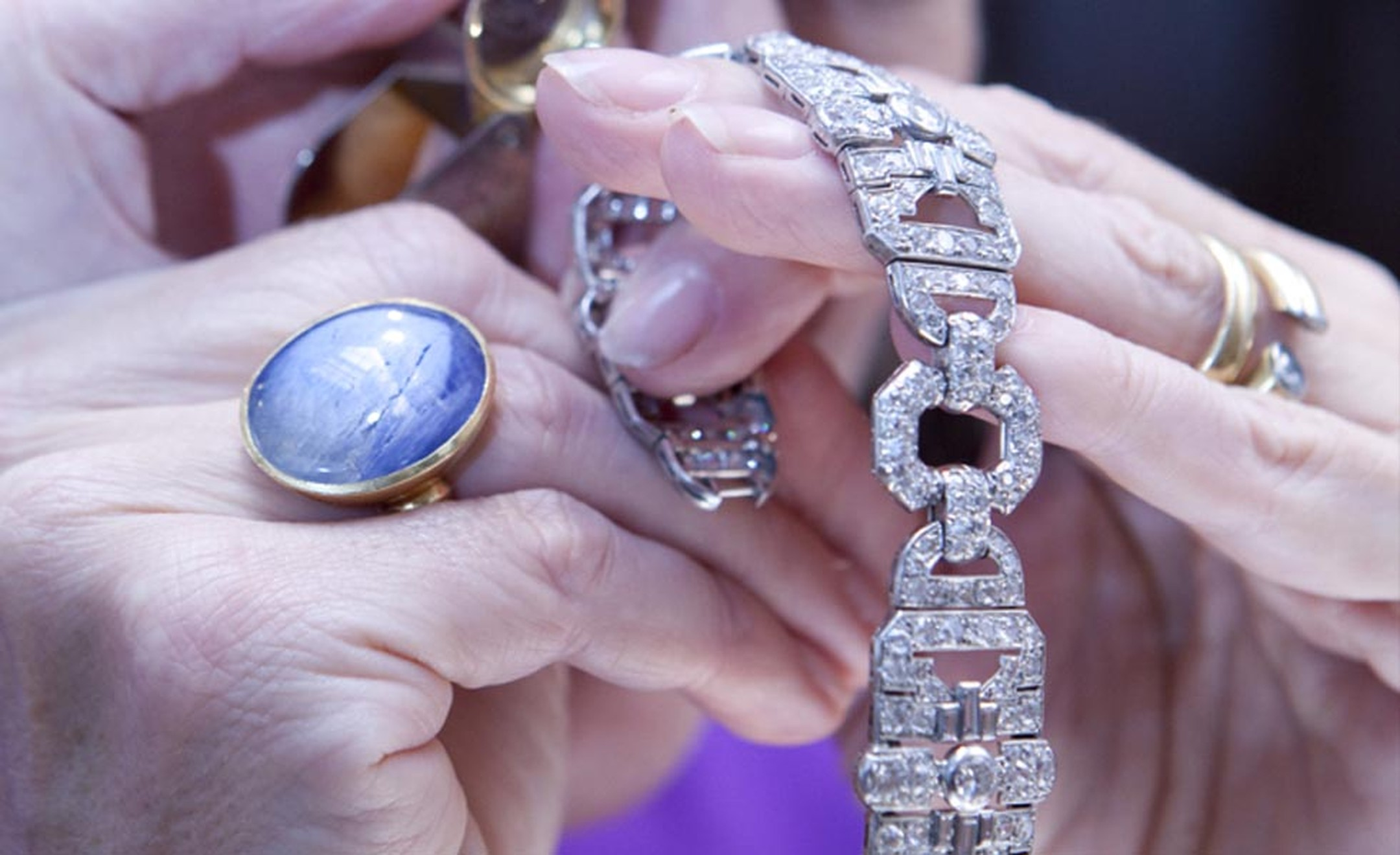 Understanding the origins and value of jewels is ex-Sotheby's jewellery expert Joanna Hardy's area of expertise