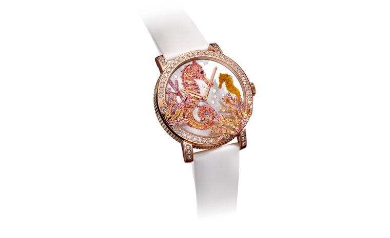 BOUCHERON, Aquatic Waves, Crazy Seahorse Watch.