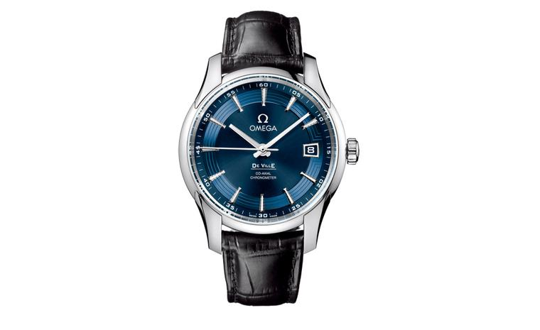 Omega Hour Vision Blue is a limited edition watch linked to the eye charity Orbis and will soon be seen on the wrist of brand ambassador Daniel Craig.