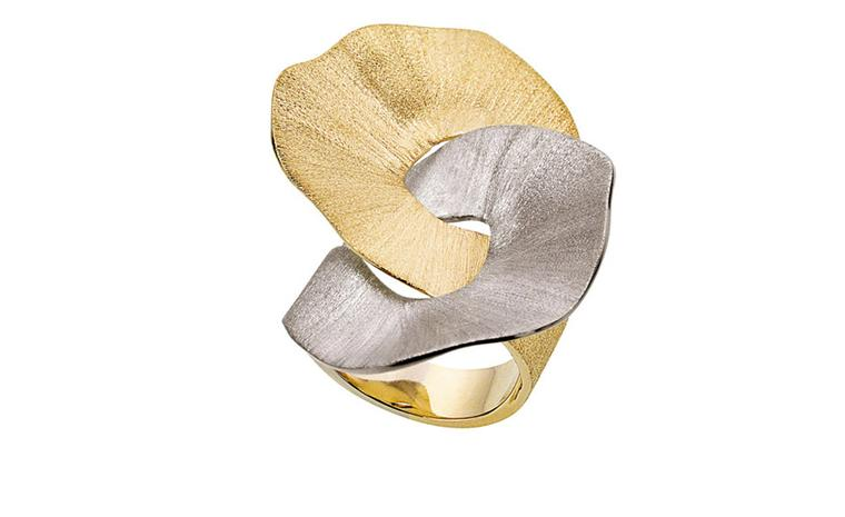 H STERN BALLET DU CORPO, Lecouna large ring, in yellow and Noble Gold. £3,200