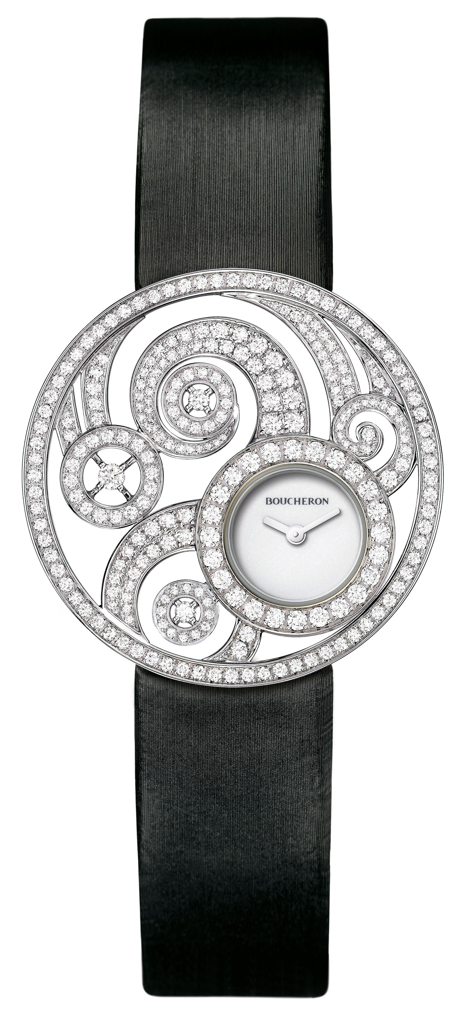 Boucheron Ajourée Volute watch