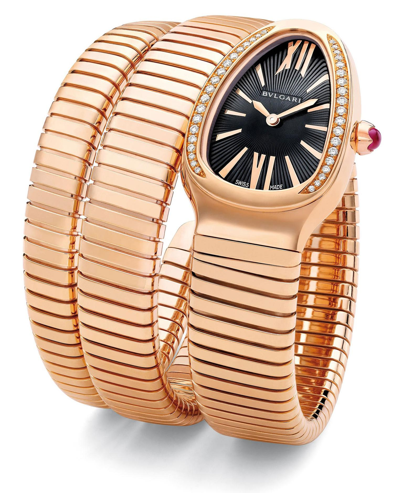 Bulgari Serpenti in pink gold