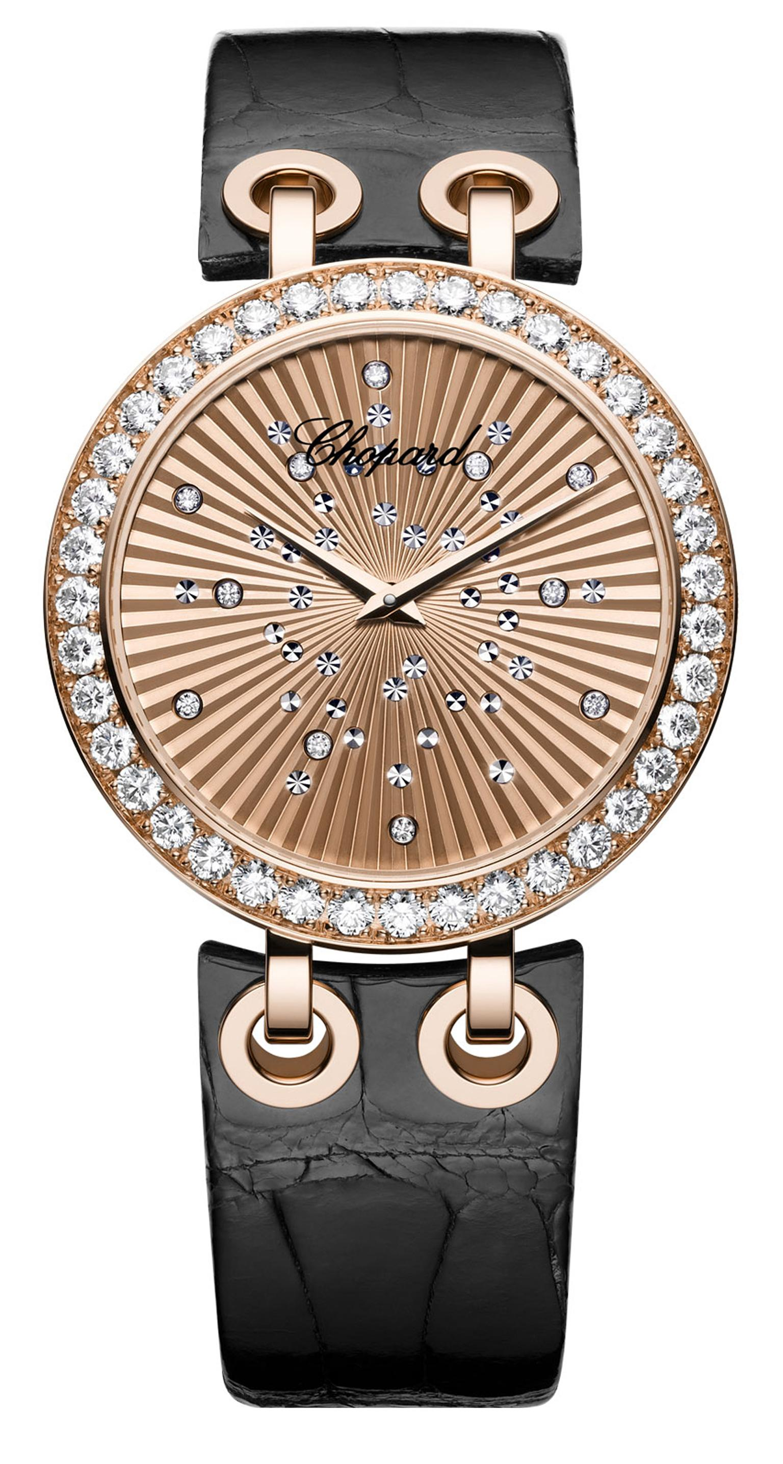 Chopard Xtravaganza watch in rose gold