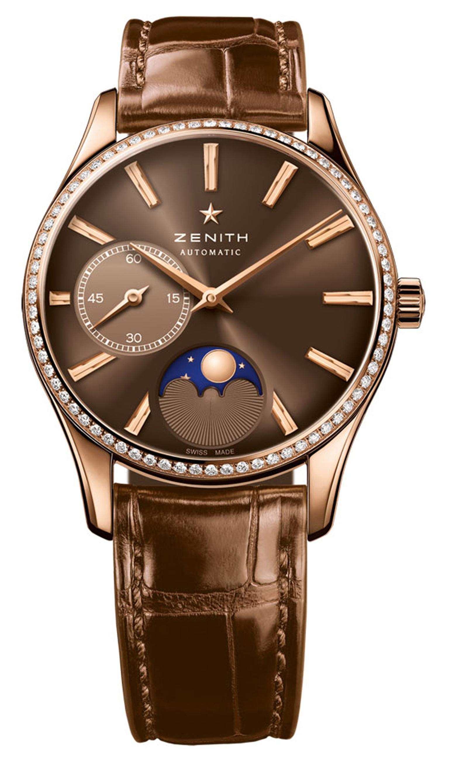 Zenith Heritage Lady Ultra Thin Moonphase