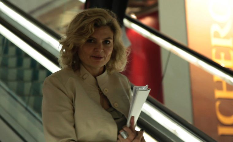 Maria Doulton, the Jewellery Editor at BaselWorld 2011
