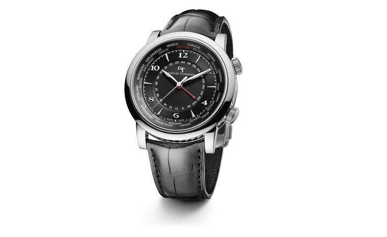 DAVID YURMAN, GMT Timepiece, $4,200