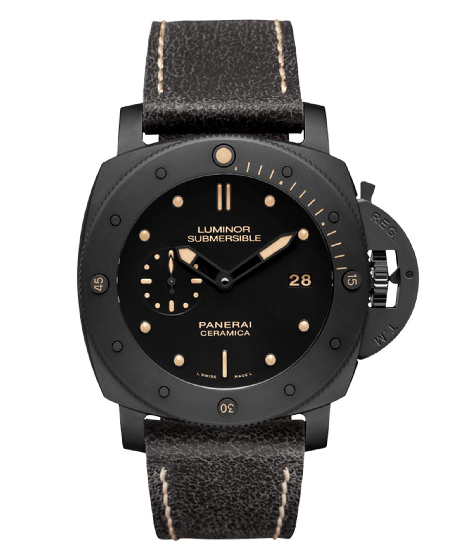 Panerai Luminor Submersible 1950 Ceramica watch_20130404_Main