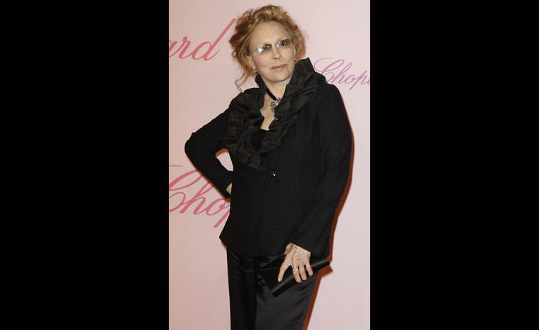 Faye Dunaway at Chopard's Crazy Diamonds party at the Cannes Film Festival 2011