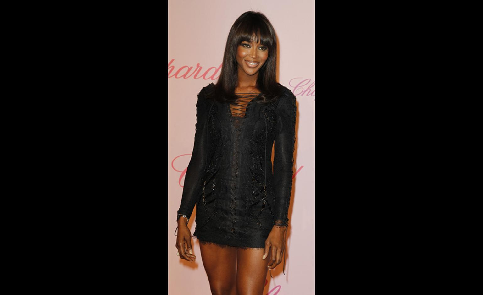 Naomi Campbell at Chopard's Crazy Diamonds party at the Cannes Film Festival 2011