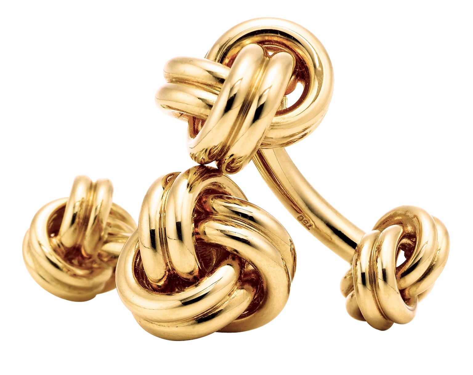 Tiffany & Co Gold Knot Cufflinks_20130412_Zoom