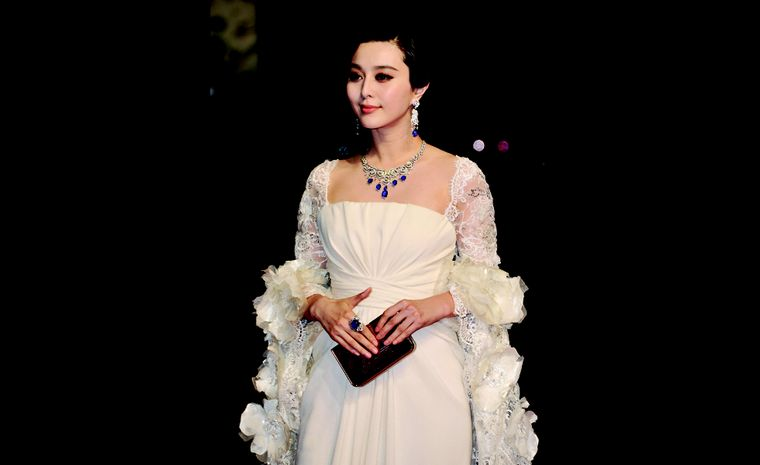 "CANNES, FRANCE - MAY 13:  Fan Bing Bing with Cartier jewelry attends the ""Polisse"" premiere at the Palais des Festivals during the 64th Cannes Film Festival on May 13, 2011 in Cannes, France.  (Photo by Pascal Le Segretain/Getty Images)"