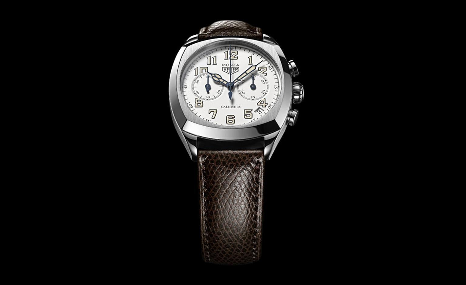TAG Heuer's new Monza chronograph will be limited to 1911 pieces and is inspired by a model from the 1930's.