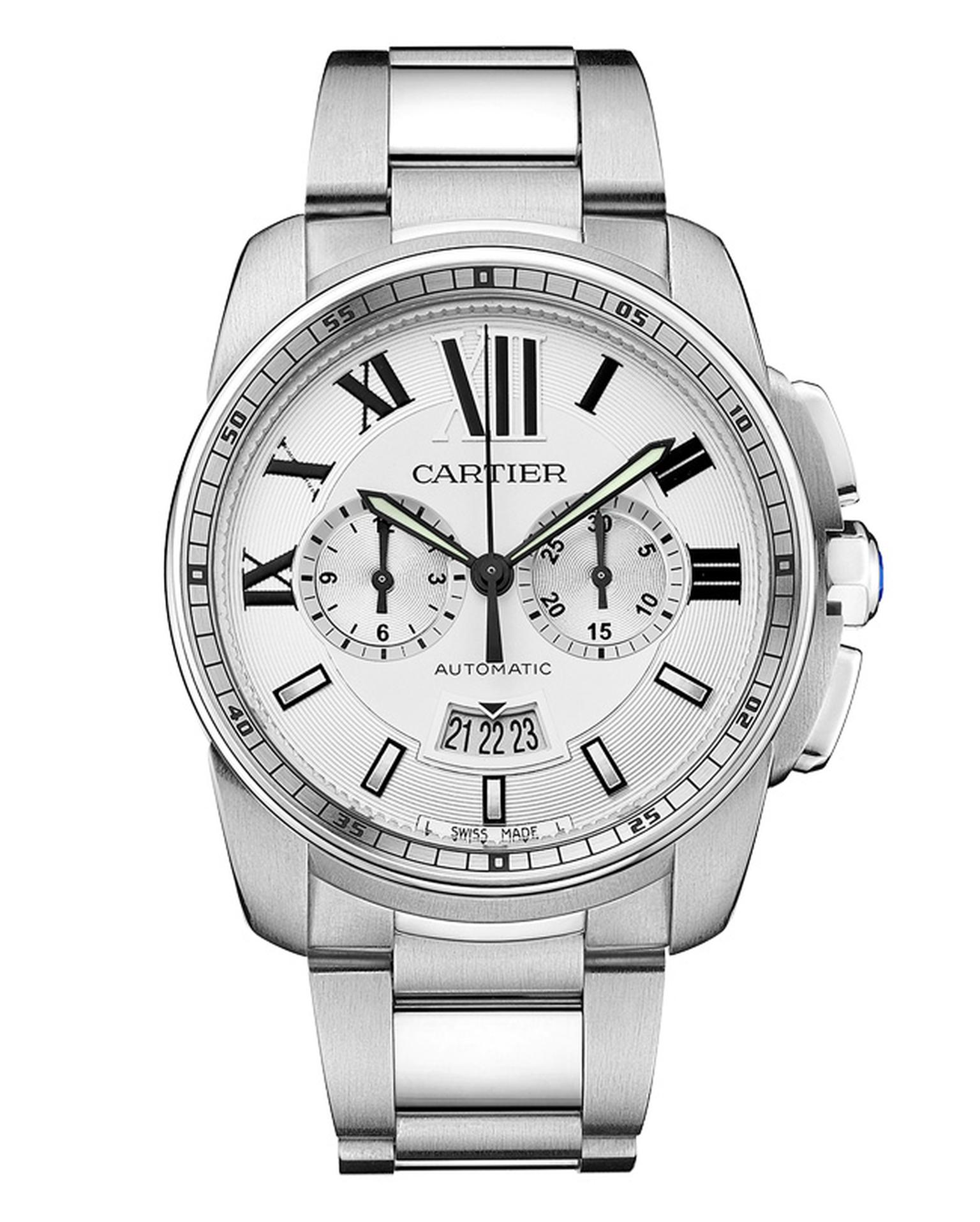 Calibre de Cartier Chronograph watch_20130418_Main