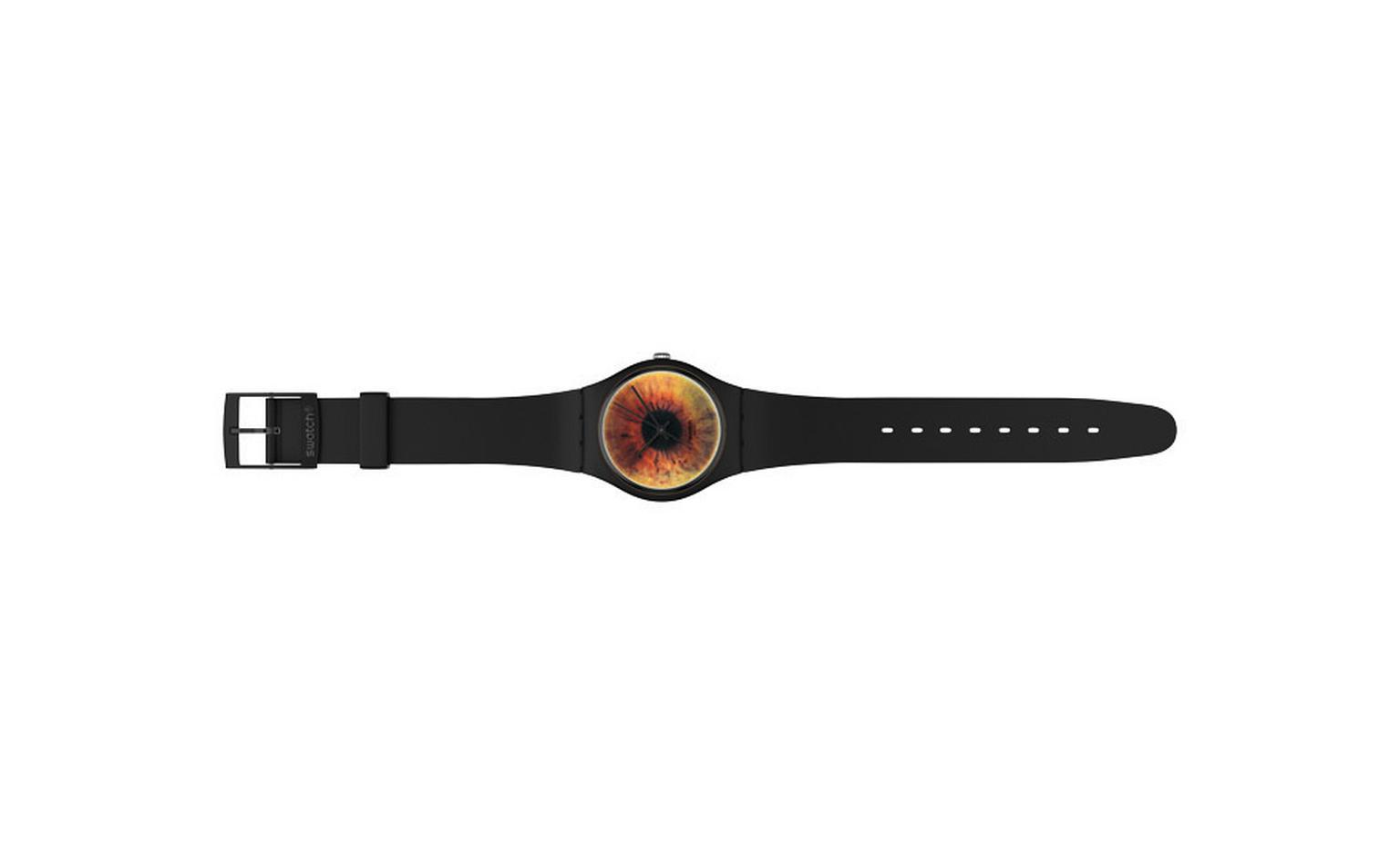 The Swatch Brownscape Rankin watch that sells for £38