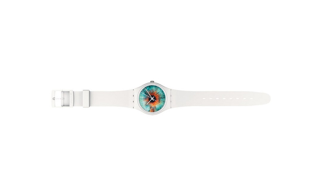 The Swatch Aquascape Rankin watch that sells for £38
