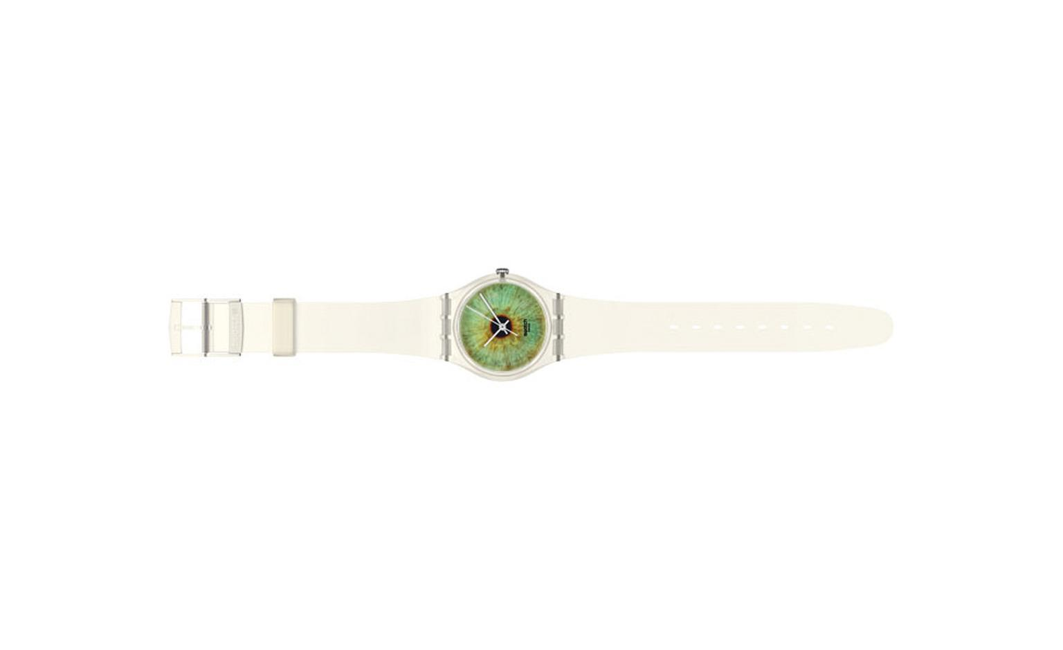 The Swatch Greenscape Rankin watch that sells for £38