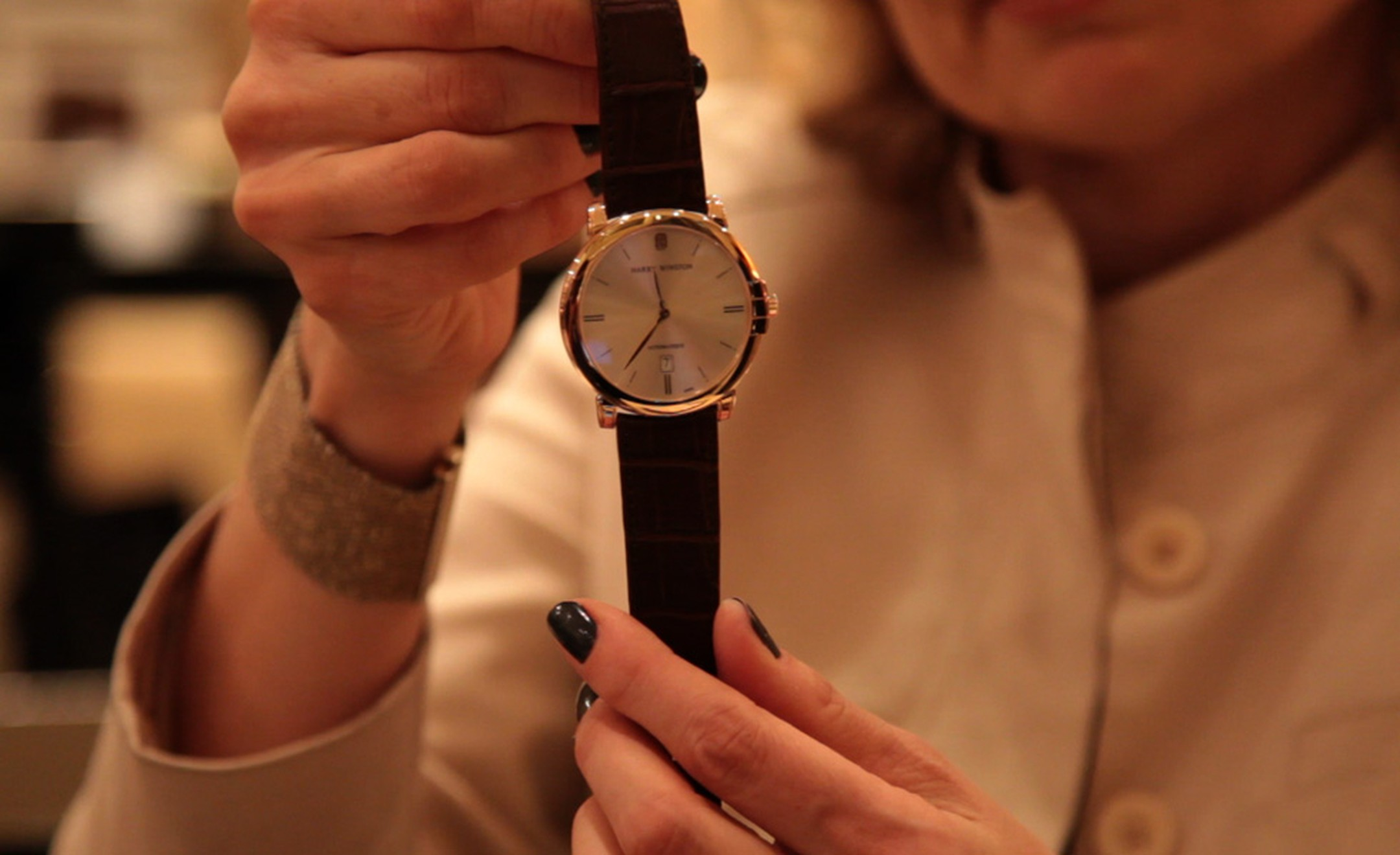 Video of Maria Doulton, The Jewellery Editor, at Harry Winston, BaselWorld 2011