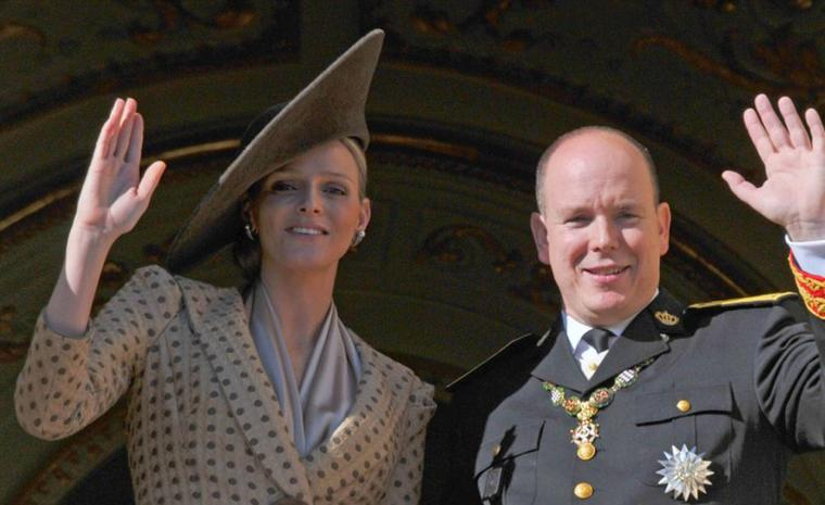 Charlene Wittstock and Prince Albert II of Monaco on official duties.Photo: Prince's Palace of Monaco