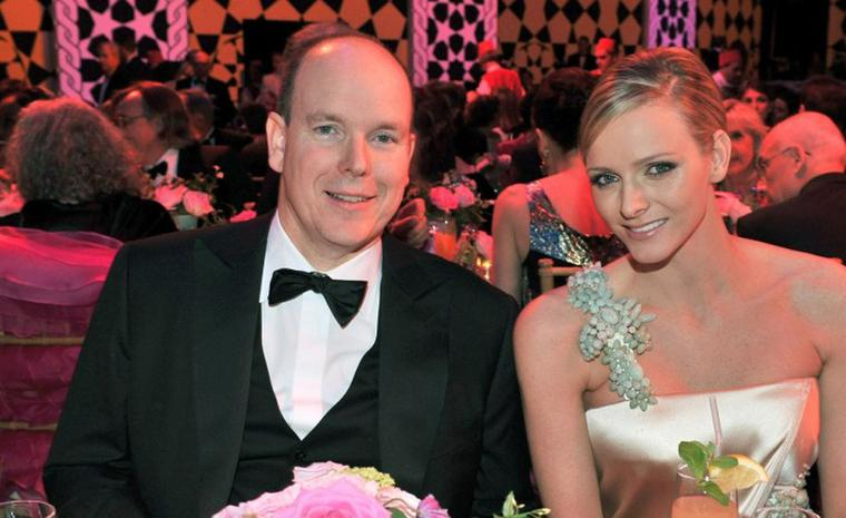 Prince Albert II with Charlene Wittstock.Photo: Prince's Palace of Monaco