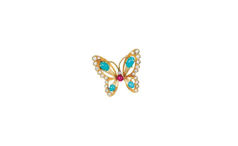 Van Cleef & Arpels butterfly clip 1961 belonging to Princess Grace.