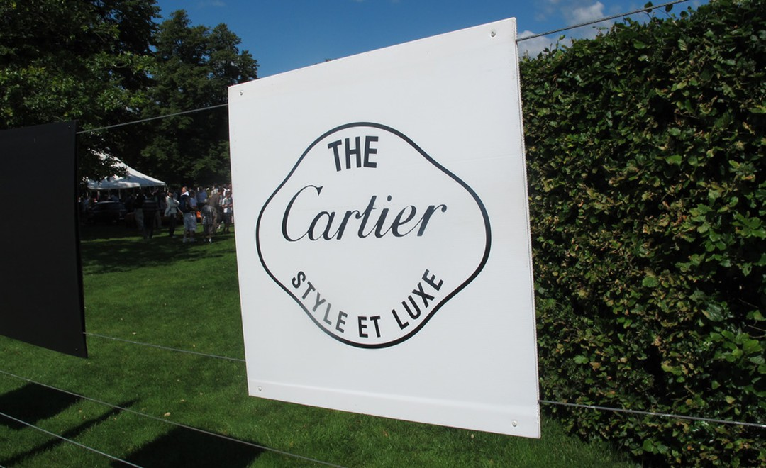 I like the Cartier 'Style et Luxe' exhibition of posh old bangers.