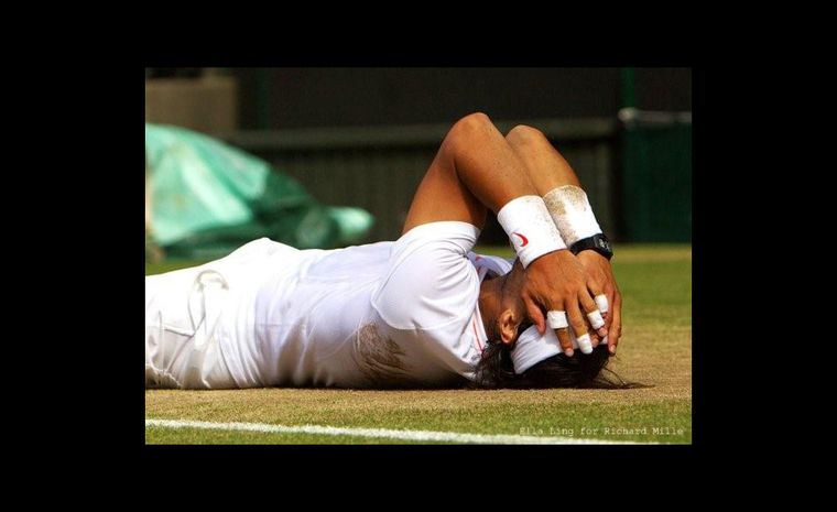 Rafael Nadal at Wimbledon 2010 wearing the same watch he sports at Centre Court for the 2011 final versus Djokovic. copyright-Ella-Ling-for-Richard-Mille