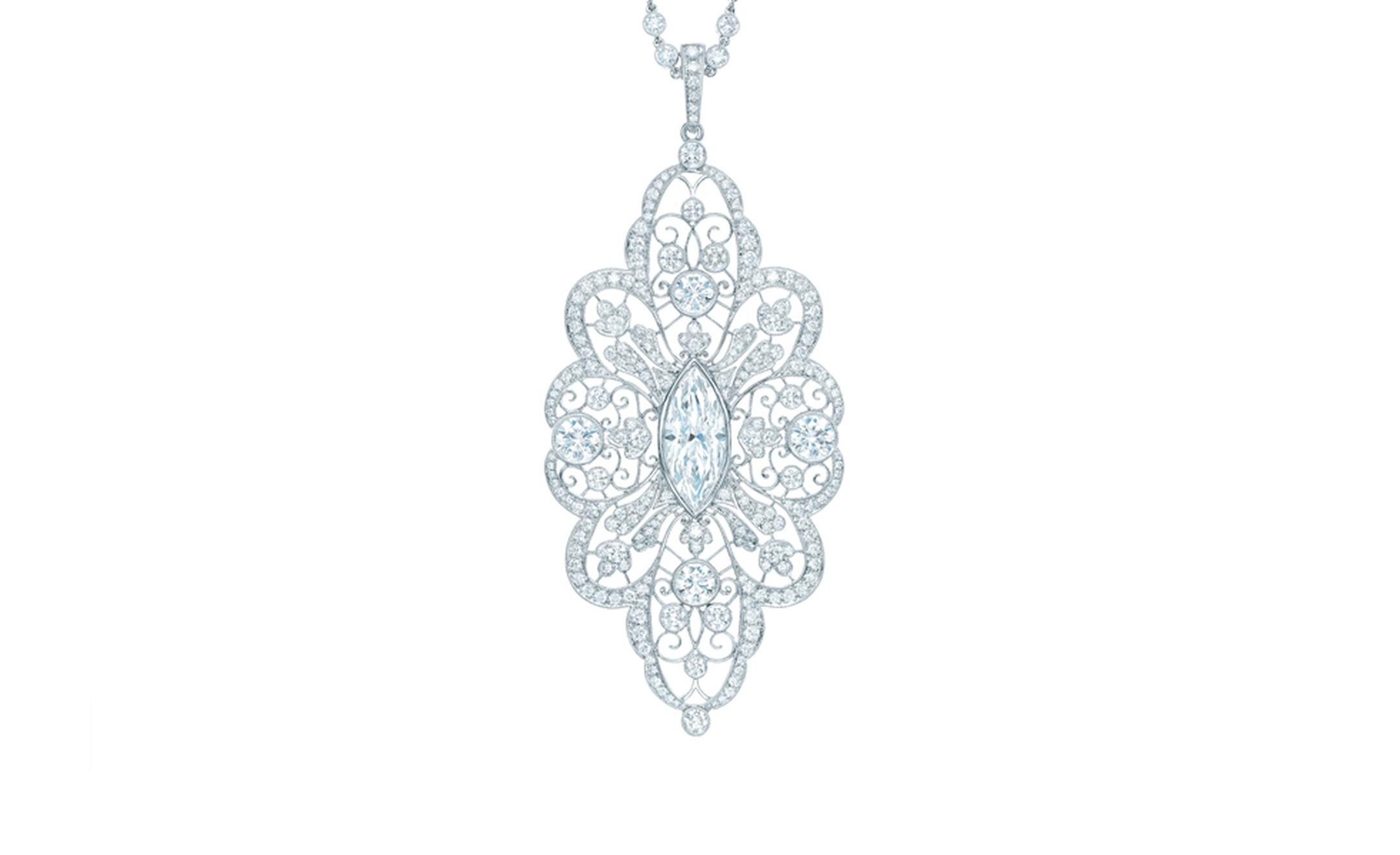 TIFFANY, Diamond Pendant. Price from $335,000