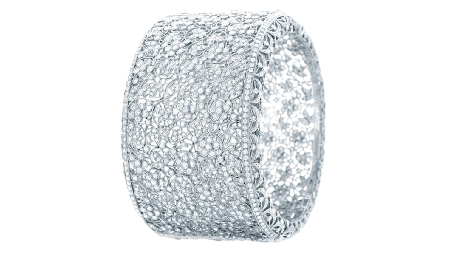 TIFFANY, Floral Diamond Bangle. Price from $165,000