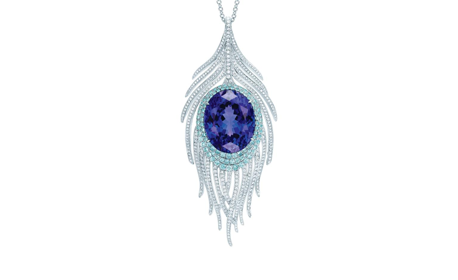 TIFFANY, Peacock Pendant. Price from $90,000