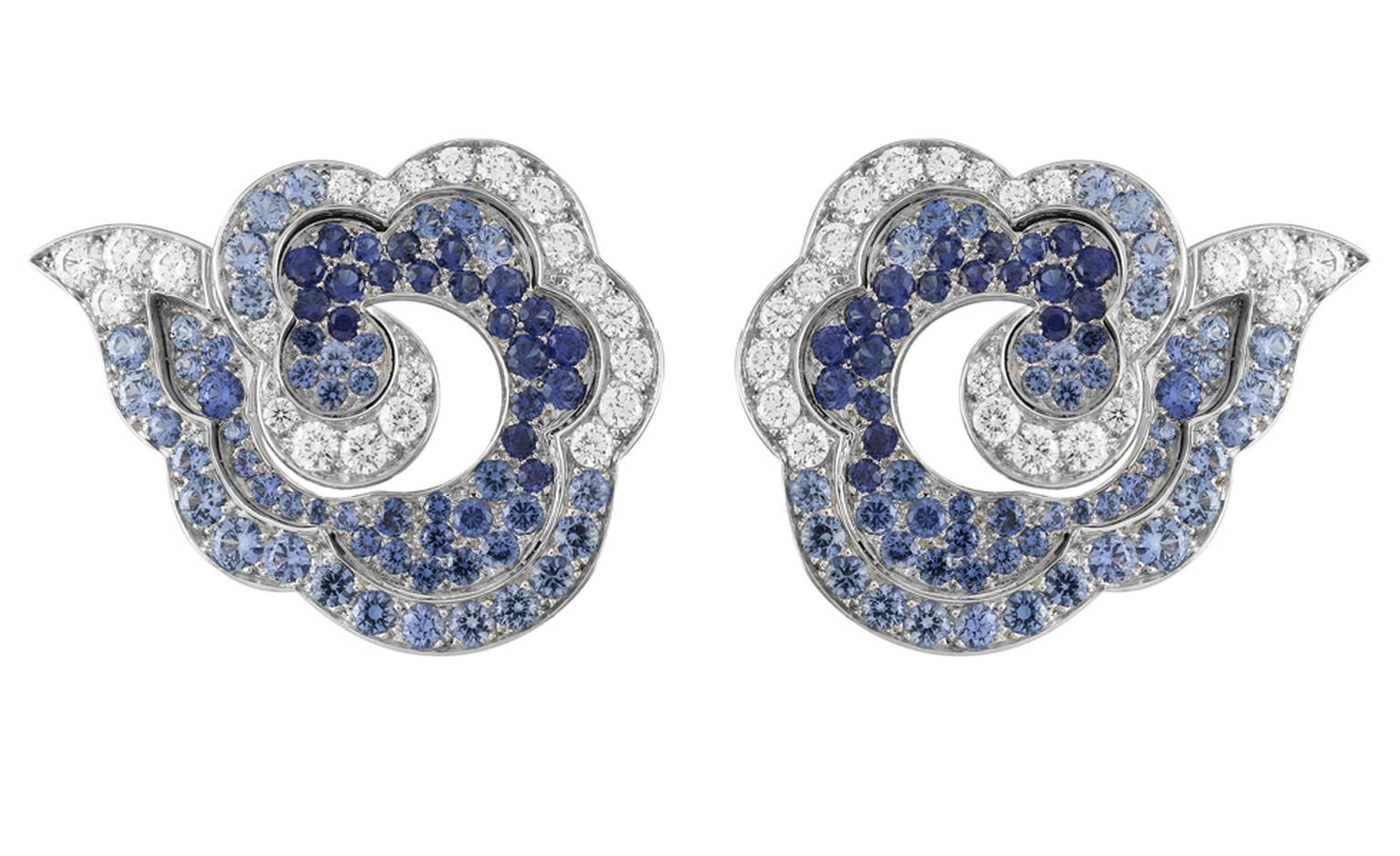 Van Cleef & Arpels, Bals de Légende, Le Bal du Siècle, Chinoiserie earrings.