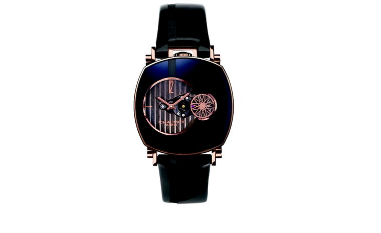 CHAUMET. Dandy Arty open face watch. POA