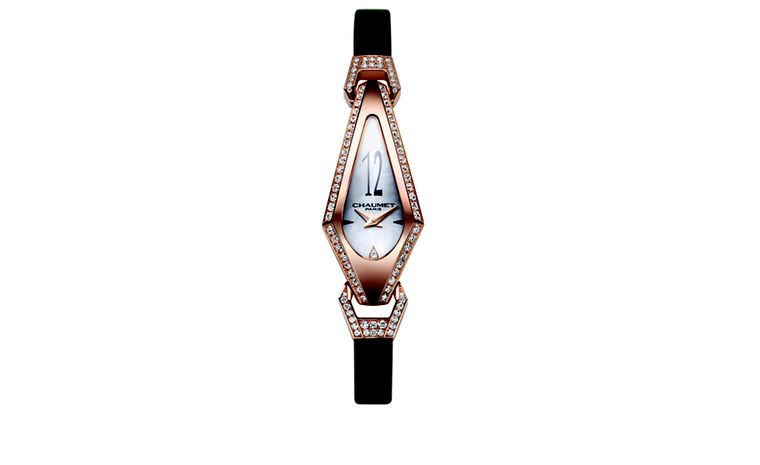 CHAUMET. Josephine watch in pink gold. POA