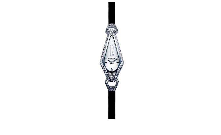 CHAUMET. Josephine watch in white gold. POA